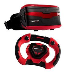 VR Entertainment 49400 Real Feel Virtual Reality Car Racing Gaming System