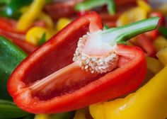 How to save sweet pepper seeds