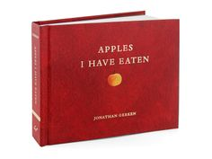Apples I Have Eaten Book