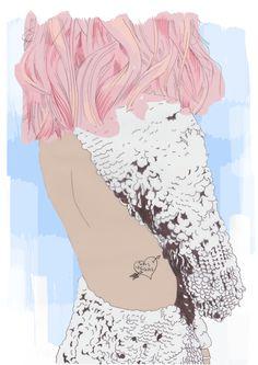 Fashion Illustration by Georgina Hart http://www.georginahart.co.uk