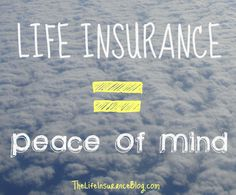 Life insurance gives you peace of mind #CoveredForLIFE