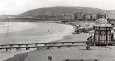 San Sebastián antiguo. La caseta de baños de la Reina