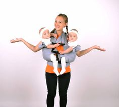 Twin Baby Carrier Twins Carrier Tandem Twin Wrap Carrier