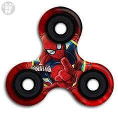 BROOKE LEWIS Fidget Spinner Spider Man Hand Spinner Toy Premium Hand Toy For Kids Adults Perfect For Stress Reducer Relieve Anxiety ADD ADHD - Fidget spinner (*Amazon Partner-Link)