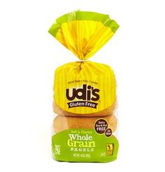 Shop for Udi's Gluten Free Whole Grain Bagels 14 oz Pack). Get free delivery On EVERYTHING* Overstock - Your Online Gourmet Foods Shop! Fodmap Diet, Low Fodmap, Bread Brands, Gluten Free Bagels, State Foods, Flax Seed Recipes, Fodmap Recipes, Baby Food Recipes, Free Recipes