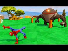 Spiderman Battles Robots and Rides Bulleye the Toy Story Horse with Songs and Nursery Rhymes http://4kcartoonsandgames.com/portfolio/2016/1/22/spiderman-battles-robots-and-rides-bulleye-the-toy-story-horse-with-songs-and-nursery-rhymes