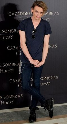 Jamie Campbell Bower there are no words to describe him ..... well maybe there is one AMAZING! :)