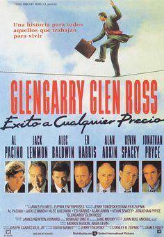 Glengarry Glen Ross James Foley A**** Glengarry Glen Ross, Jack Lemmon, Hd Movies, Movies Online, Movie Tv, Alec Baldwin, Kevin Spacey, Al Pacino, American Greed