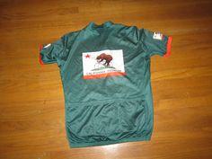 California Bear Cycling Jersey by Giordana | Bear Flag Museum