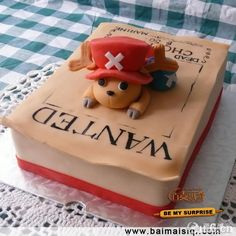 One Piece Chopper Cake