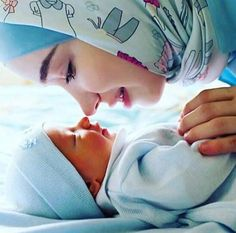 Muslim mom and baby photography Trendy Ideas Mama Baby, Mom And Baby, Cute Baby Girl, Baby Love, Cute Babies, Mother Art, Mother And Child, Cute Muslim Couples, Cute Couples