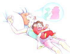 Pearl with baby Steven....