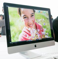 The new Apple iMac with retina 5K display.