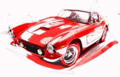 Cars & Motorsport (Digital Painting) on Digital Art Served