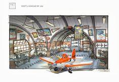Artes de Ed Li produzidas para o filme Planes   THECAB - The Concept Art Blog