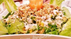 طريقة عمل سلطة النودلز المقرمشة - Crispy noodles salad recipe