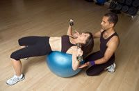GREAT website for swiss ball exercises!