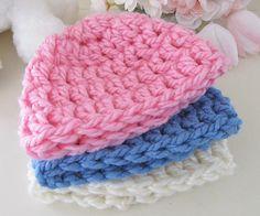 Chunky Newborn Hat Baby Hat Crochet Infant Hat Baby Beanie