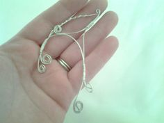Simple Silver Wire Wrapped Elven Elf Ear Cuff by KingsfieldInn