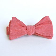 Red Bow ties Red Bowties Self tie bow tie Men's Bow