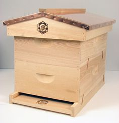 English Garden Bee Hive, via Flickr.  Brushy Mountain Bee Farm Inc