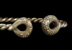 COMPASS Image Caption:Detail of a torc from the Ipswich Hoard