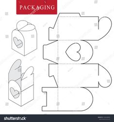 Package for bakery.Vector Illustration of Box. Isolated White Retail Mock up. Package for bakery.Vector Illustration of Box. Isolated White Retail Mock up. Diy Gift Box, Paper Gift Box, Diy Gifts, Diy Paper, Paper Crafts, Paper Box Template, Box Templates, Box Packaging, Shirt Packaging