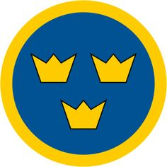 Roundel of Sweden.svg