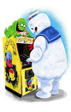GHOSTBUSTERS AT THE ARCADES!
