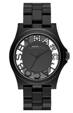 MARC BY MARC JACOBS 'Henry Skeleton' Bracelet Watch, 41mm available at #Nordstrom