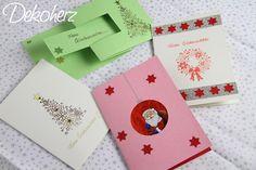 Die letzten Tage habe ich mich meiner Weihnachtspost gewidmet. Ich wollte jedem eine andere Karte basteln (Fehler Nr. 1) und alles an einem ...
