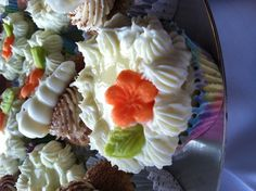 Key lime pie/cheesecake cupcakes