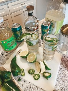 This has been the summer of spicy margaritas for me! I usually don't drink hard alcohol, but this has been my go to, refreshing summer drink. Sharing my recipe just in time for you to enjoy this weekend! Refreshing Summer Drinks, Summer Cocktails, Cocktail Drinks, Fun Drinks, Yummy Drinks, Cocktail Recipes, Beverages, Alcoholic Drinks, Mixed Drinks