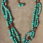 TTE Designs by Tammie Everly features Custom Handcrafted Artisan creations of Jewelry, Polymer Clay and Ephemera including mixed media pieces and home decor. Turquoise Necklace, Beaded Necklace, Earring Set, Polymer Clay, My Etsy Shop, Copper, Fire, Jewelry, Design