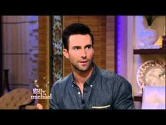 Adam Levine on LIVE with Kelly and Michael - YouTube