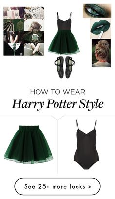 """The ballet of slytherin"" by elisa-moralespv on Polyvore featuring Ballet…"