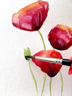 Flowerpainting auf www.CreativeClub.blog