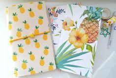 Set Fauxdori - Dori, Two Inserts Notebook - Juicy Pineapple