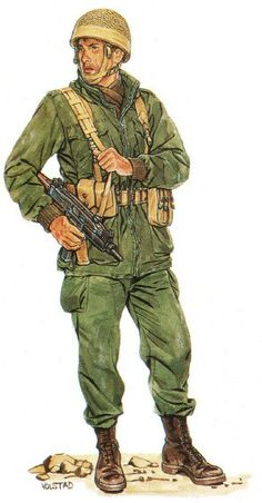 Israeli Defence Force - paratrooper 1956, pin by Paolo Marzioli