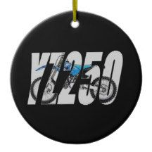 2013 YZ250 CERAMIC ORNAMENT