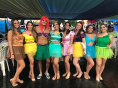 Best DIY Group Halloween Costumes for your girl squad - Hike n Dip <br> Check out the best Group Halloween Costume ideas perfect for college Halloween parties. These Halloween Costumes for 3 are perfect for girls & also womens. Disney Princess Halloween Costumes, Halloween Costumes For Teens Girls, Cute Group Halloween Costumes, Couples Halloween, Halloween Costumes For 3, Girl Costumes, College Halloween Parties, Halloween Party, Disney Group Costumes