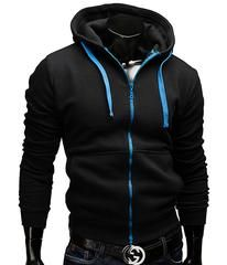 8196d6305 Fashion Brand Hoodies Men Casual Sportswear Man Hoody Zipper Long-sleeved Sweatshirt  Men Five Colors