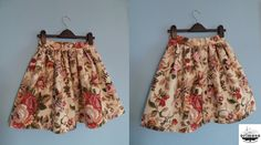 English flowers short skirt, sewn by me :) You can find it at my facebook page. :) What do You think about it? :)