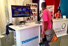 #SFDK2014 - Le stand #TV5MONDE au village de la #Francophonie @SFDK2014 @OIFfrancophonie #Dakar.