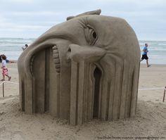Les fantastiques sculptures de sable de Guy-Olivier Deveau - 2Tout2Rien