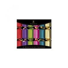 Mini Luxury Crackers Brights pk6