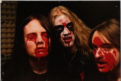 Euronymous, Dead, and Necrobutcher of Mayhem.