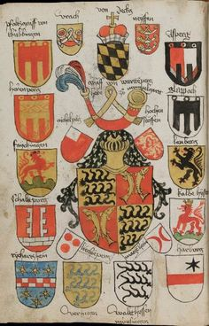 Wappenbuch des St. Galler Abtes Ulrich Rösch Heidelberg · 15. Jahrhundert Cod. Sang. 1084 Folio 209