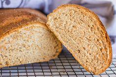 For the love of bread - Pão de trigo e centeio Rye Bread, Sandwiches, Blog, Stuffed Bread, Recipes, Flowers, Blogging, Paninis