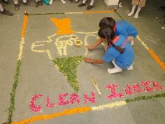 Rangoli Competition at CPS Ghatlodia